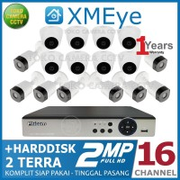 PAKET CCTV 16 CHANNEL 2MP HDD 2TB