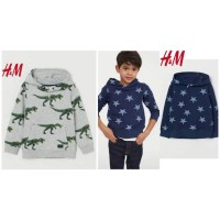 Outerwear Pakaian Anak Laki-Laki Original H&M Hoodie Murah B SBKB13681