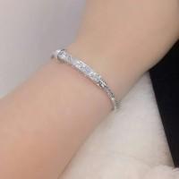 Gelang Silver 41 Diamond Titanium Xuping Asli Antikarat Antialergi