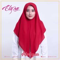 Promo Jilbab Segitiga Instan / Real Pict Sesuai Gambar Keren - Merah