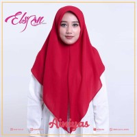 Promo Jilbab Segitiga Instan / Real Pict Sesuai Gambar Keren - Silver
