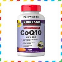 SUPER MURAH KIRKLAND SIGNATURE COQ10 300 MG 100 SOFTGELS SUPLEMEN