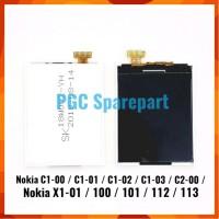SALE LCD 12 PIN NOKIA C1 00 C1 01 C1 02 C1 03 C2 00 X1 01 100 101 112