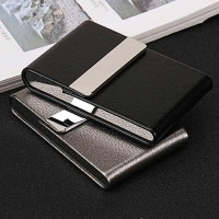 FOCUS Kotak Bungkus Rokok Elegan Leather Cigarette Case - B650925
