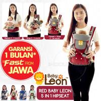 gendongan Hipseat Baby leon/carrier baby/gendongan instan 5in1 by60