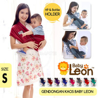 BABY LEON Gendongan Kaos cotton 2 in 1 / Geos Katun 2in1 BY-56-GB
