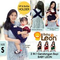BABY LEON Gendongan Kaos cotton 2 in 1 / Geos Katun 2in1 BY-56-GB