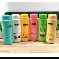 Botol My Bottle Animal Nama Hewan Plastik 500ml Elastis BPA FREE