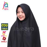 Jilbab Afra Amira Hijab Kerudung Kaos Instan Pet Antem Bergo Hitam