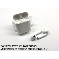 Headset Bluetooth Airpods Apple OEM Gen 2 Clone 1:1 Wireless Charging
