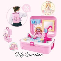MAINAN EDUKASI ANAK PEREMPUAN/HOUSE BACKPACK/DRESSER BABY CARE GIRL