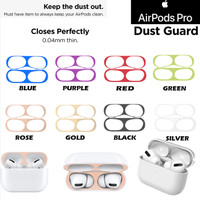 Airpods Pro 2019 / Airpods 3 Anti Dust Metal Sticker (Pelindung Debu)