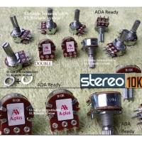 Stereo 10K Potensiometer 10 K Kilo Potensio meter VR B10K Tune volume