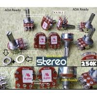 Stereo 250K Potensiometer 250 K Kilo Potensio meter B250K Tune volume