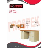 Meja Kantor Prospek KD 045 - 1400