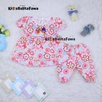Setelan Baby Berry 0-12 Bulan / Baju Anak Perempuan Celana Bayi Dress