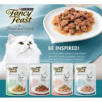 Fancy Feast Purina Inspiration Wet Pouch 70Gr Makanan Kucing