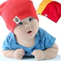 Topi kupluk bayi perempuan dan laki-laki penutup kepala anak bayi lucu
