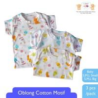 LIBBY Oblong Cotton Motif Fruit ( 3pcs / pack )
