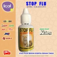 STOP FLU Obat Kucing Pilek Demam Bersin Bersin Aman Buat Kitten