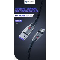 Ultimate Kabel Data Cable Charger Supreme Micro USB 1M 5A SPM100
