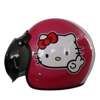 Helm retro GTR Hello Kitty Pink