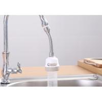 Sambungan kran hose cuci Piring wastafel shower 360 derajat 3 mode