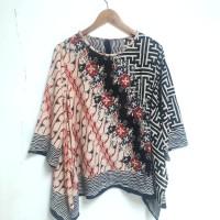 Atasan batik blouse paris batwing 057