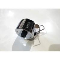 Hand Tally Counter Stainless ROX / Alat Penghitung Tasbih / Dzikir