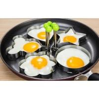 Cetakan telur berbagai motif Alat Cetakan Telur Pancake Karakter