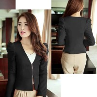 BLAZER SIMPLE RESLETING I BLAZER FASHION WANITA