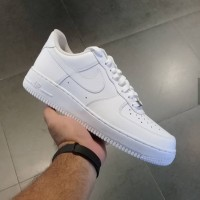 Sepatu Nike Air Force 1 Low Triple White Unisex