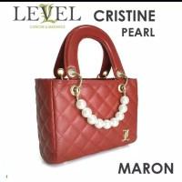 Tas handbag wanita import level cristine pearl batam murah