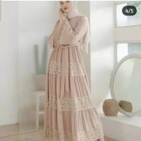 GAMIS DEBA BROKAT KEBAYA DRESS WOLFIS PREMIUM