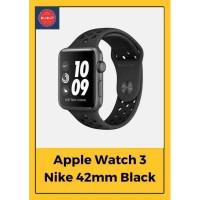Apple Watch Series 3 42mm Nike+ Space Gray Aluminum Black Sport Band