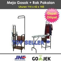 Meja Setrika Besi Expo MS 9101 Rak Busa Gosok Gantungan Hanger Jemuran