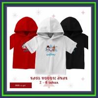 Baju Kaos Hoodie Anak Kupluk Cowok dan Cewek (Unisex) edisi Natal (Put