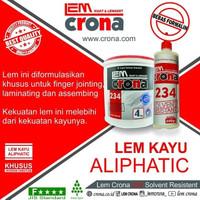 Lem Crona 234 SR Lem Kayu *BEST SELLER ALIPHATIC WOOD GLUE (4 KG) GOOD