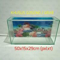 KHUSUS GOSEND Aquarium slim / aquarium flat