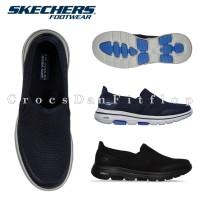 SKECHERS MENS Gowalk 5 Original Sepatu Sneakers Pria - Free Dus