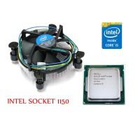 Processor Intel Core i5-4590 3,3Ghz Original Tray + FAN Garansi 1 Thn