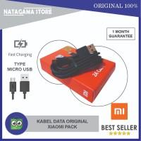Kabel Data Xiaomi Micro USB Original 100 % Fast Charging Packing Dus