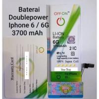 Baterai Doublepower iphone 6 / 6G battery batre