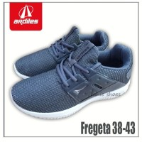 Fanie Shoes - Ardiles Fregeta 38-43 Grey / Sneakers Pria