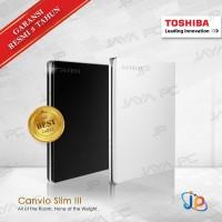 Toshiba Canvio Slim III 1TB HDD / HD / Hardisk / Harddisk External 2.5