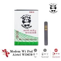 Baterai Modem Zte Wi-Pod Airtel WD670 4G Lte M2Y Double IC Protection