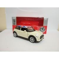 Diecast New Mini Hatch Cooper miniatur mobil klasik welly nex murah