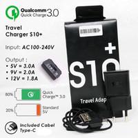 TC TRAVEL CHARGER ORIGINAL SAMSUNG S10 PLUS Type C Quick Charging 3.0A