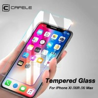 CAFELE IPHONE 11/11 PRO/11 PRO MAX/X/XR/XSMAX TEMPERED GLASS CLEAR HD - 7 8