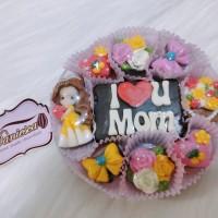 TB Coklat ucapan tema mother's day hari ibu